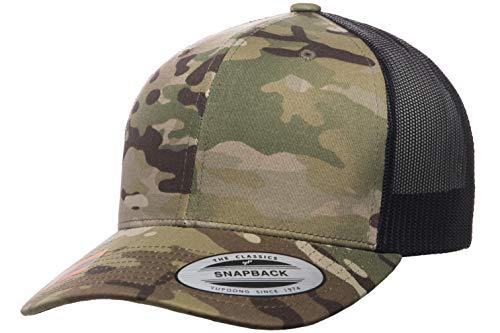 Yupoong Retro Trucker Hat & 2-Tone Snapback - 6606, by Flexfit...