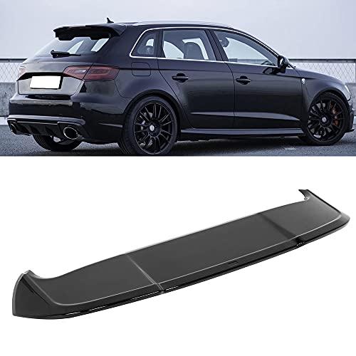 SXPENG Coche Techo Trasero Spoiler Negro Brillante, Adecuado para el ala de extensión de Estilo RS3 Adecuado para A3 8V Sportback 5 Puertas 2013-2020 Estilo de automóvil