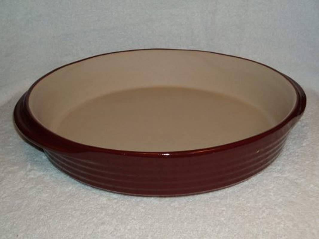 The Pampered Chef Deep Dish Baker Cranberry