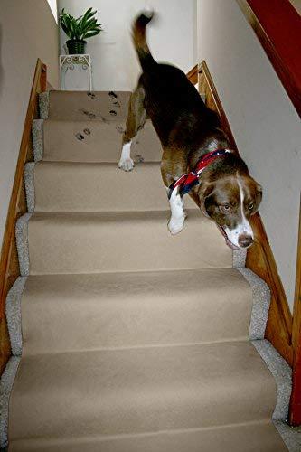 LAMINET Non-Slip Carpet & Floor Protector - Beige - 6'L x 30