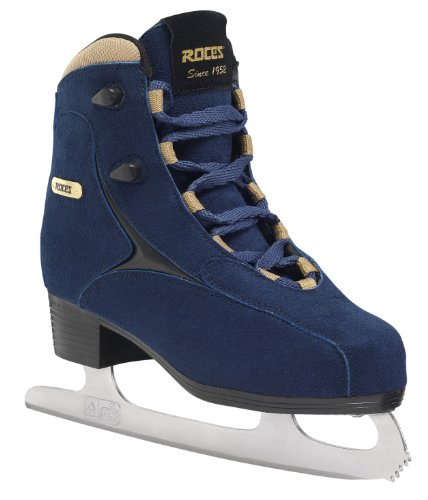 Roces Damen Caje Schlittschuh, blue-Gold, 38