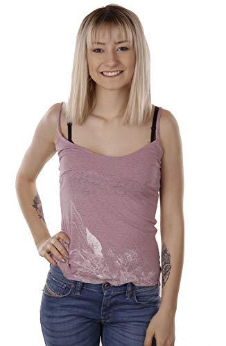 Diesel, Mujeres, Top, Camiseta Perpignac (X-Small, Rosa)