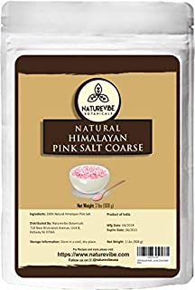 100% Natural Himalayan Pink Salt (2lb) by Naturevibe Botanicals, Gluten-Free & Non-GMO (Coarse Grade) [Packaging May Vary]
