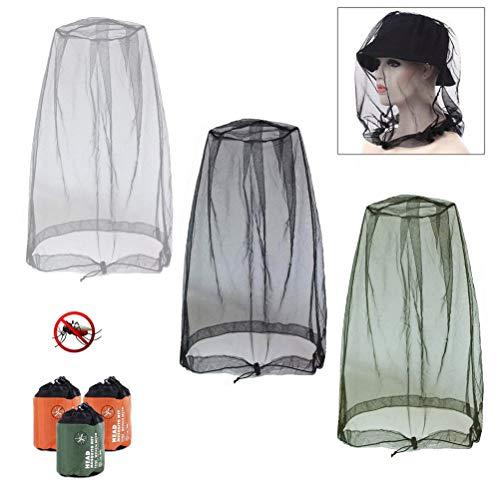 winomo 4/St/ück Mosquito Head Net Face Hals Schutz Netz Mosquito Insektenschutz bissfest Net f/ür Outdoor Angeln