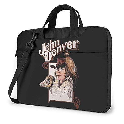 Hdadwy John Denver Laptop Shoulder Messenger Bag Funda para maletín para 13 Pulgadas 14 Pulgadas 15.6 Pulgadas Funda para computadora portátil 13 Pulgadas