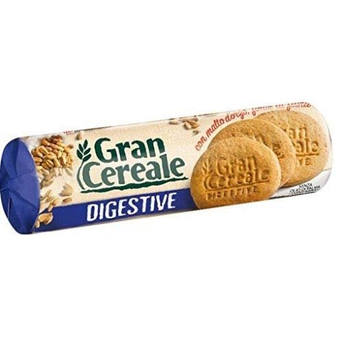 6x Mulino bianco Gran Cereale Digestive Gerstenmalz kekse Multi Cerealien 250g