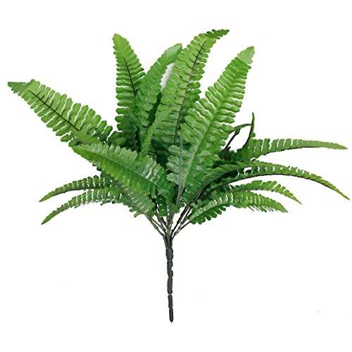 Helecho Hierba Artificial Plant Simulation Realista Helecho Hierba Inicio Arreglo del de la decoración Verde