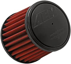 AEM 21-2031D-HK Universal DryFlow Clamp-On Air Filter: Round Tapered; 3 in (76 mm) Flange ID; 5 in (127 mm) Height; 6 in (152 mm) Base; 5.125 in (130 mm) Top