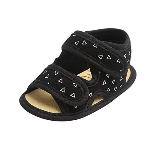 Zapatos De Bebe Sandalias Planas Antideslizantes De Verano Confort De Fondo Suave Zapatos Casuales De Primer Paso Zapatos De Cama con Punta Abierta Zapatos De NiñO Fiesta De Bautizo Regalo CumpleañOs