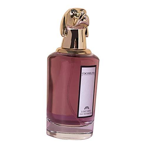 Sharplace Perfume Unisex de Cuatro Tipos para Mujer, Notas de Fragancia de Pino Rosa, Jazmín, Cedro, Gardenia - El Sr. Perro