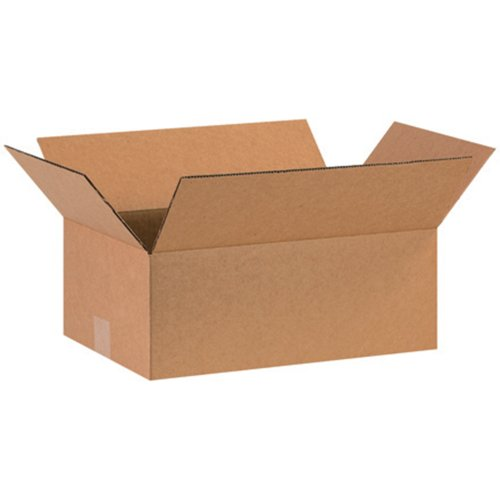 Aviditi 16106 Corrugated Cardboard Box 16' L x 10' W x 6' H, Kraft, for Shipping, Packing and Moving (Pack of 25)