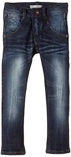 NAME IT Jungen Jeans Samuel Mini DNM REG/Slim Pant NOOS, Einfarbig, Gr. 110, Blau (Dark Denim)