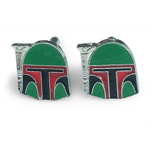 Star Wars Boba Fett Cosplay Cufflinks by Patch Nation