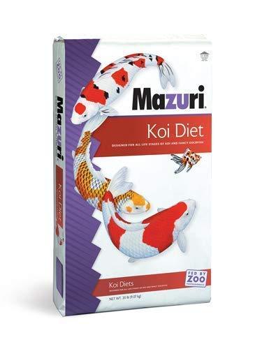Mazuri Koi Platinum Nuggets, 20 lb