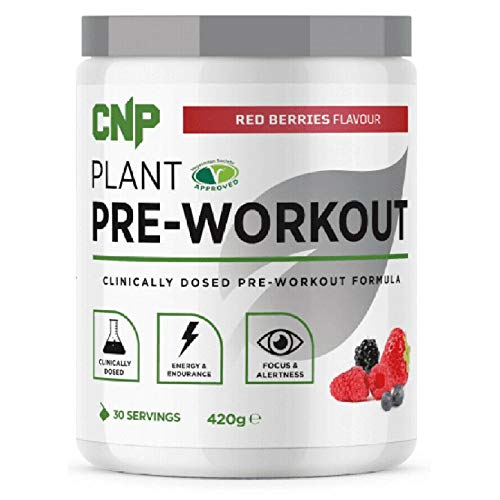 CNP Professional Plant Pre-Workout - 420g - Red Berries