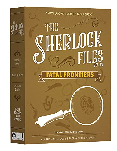 Indie Boards and Cards Sherlock Files vol 4 Fatal Frontiers