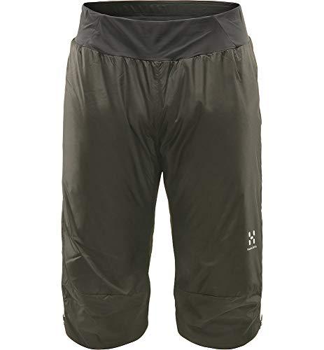 Haglöfs Thermohose Herren Barrier Knee Pant wärmend, atmungsaktiv, wasserabweisend True Black XL XL