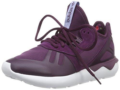 adidas Originals Damen Tubular Runner Laufschuhe, Rot (Merlot F15-St/Merlot F15-St/Periwinkle F15-St), 40 2/3 EU