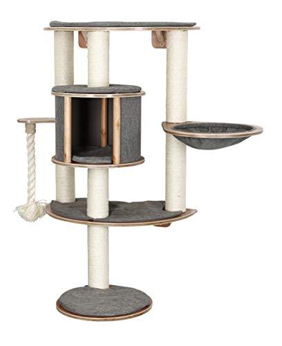 Kerbl 81542 Wandkratzbaum Dolomit Tofana Pro, 112 x 103 cm, grau