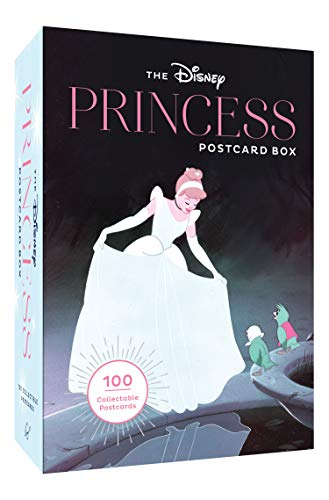 Disney Princess Postcard Box (Disney Princess Art, Disney Collectables, Disney Postcards): 100 Collectible Postcards