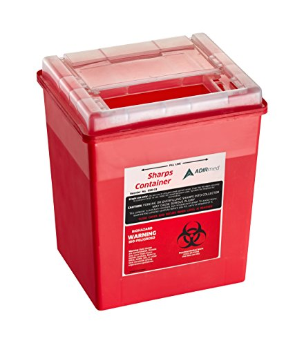 buy  Sharps Container 8 Quart with Flip-Open Lid ... Diabetes Care