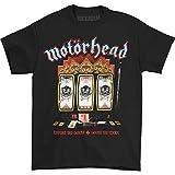 Motorhead Men's Slots T-Shirt, Black, X-Large