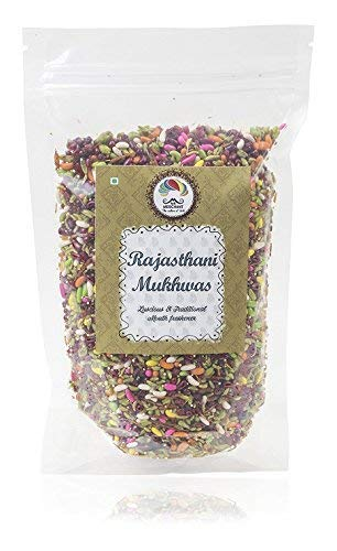Indian Mouth Freshener/Mukhwas -Mr. Merchant Rajasthani Mukhwas, 400 Grams |After Meal Digestive Mukhwas, Homemade, Indian Digestive Candy