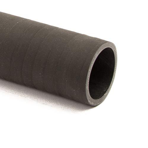Silikonschlauch matt schwarz DN=60mm L=1000mm | Silikonschläuche gerade | Silikonschläuche