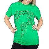 The Big Bang Theory Sheldon Bats Green T-Shirt  Ad