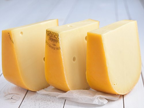Käse Basics 'Gouda Jung - aus Holland' VORTEILSPACK 3x 500g Stück junger Gouda (lange Haltbarkeit durch Vakuumverpackung)
