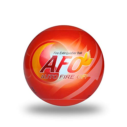 Automatic Fire Extinguisher Ball Self-activation Fire Suppression Device (Large, Multi Color 1pc)