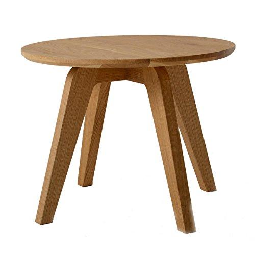 Jan Kurtz Dweller Table d'appoint, Chêne, Marron, 50 cm
