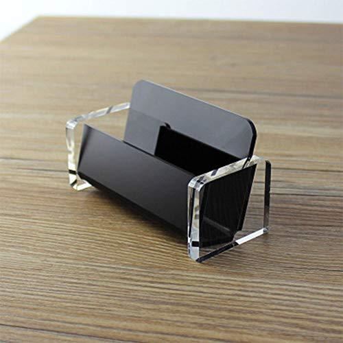 Soporte de acrílico para tarjetas de visita, dispensador de escritorio de plástico, organizador de...