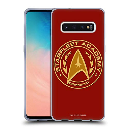 Head Case Designs Officially Licensed Star Trek Command Starfleet Academy Logos Soft Gel Case Compatible with Samsung Galaxy S10