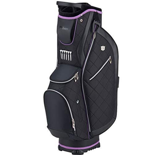 WILSON WS Lady CART Bag BLBLPU Sacs Chariots Golf pour...