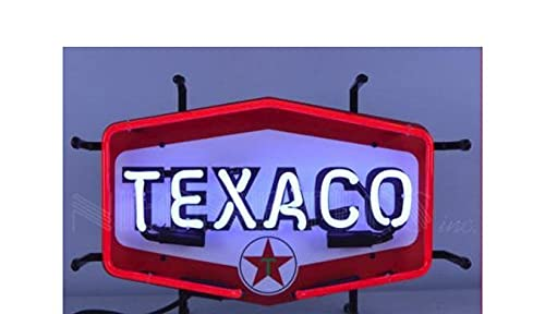 Sale price New Neonetics Texaco Hexagon Don't miss the campaign Junior 5SMLT by Neon Sign