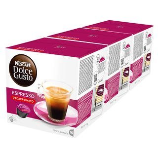 Nescafe Cash special price Dolce Charlotte Mall Gusto Espresso Decaf - Pack 48 Capsule 3 of Total