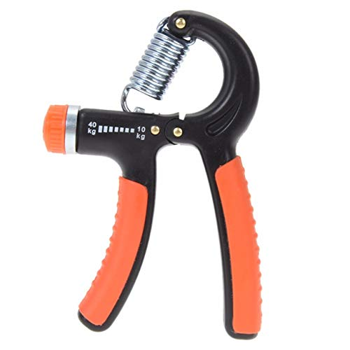 Bolditech Strengthener Adjustable Resistance 22-88 Lbs (10-40kg) -Hand Grip Exerciser, Strengthen Grip, Hand Squeezer, Forearm Grip, Hand Exercise, Gripper, Finger Strengthener