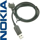 Cable de datos Original Nokia CA-53 USB para Nokia 3230, 3250, 3300, 5500 Sport, 6085, 6086, 6111, 6112, 6125, 6131, 6136, 6151, 6170, 6230, 6230 I, 6233, 6234, 6260, 6270, 6280, 6288, 6630, 6650, 6670, 6680, 6681, 7270, 7370, 7373, 7610, 7710, 9300 Smartphone, 9300 I Smartphone, 9500 Communicator, E50, E60, E61, E61i, E65, E70, N70, N71, N73, N77, N80, N90, N92, N93, N93i.