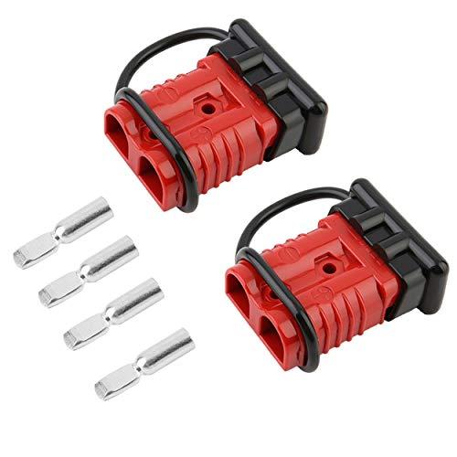 Lodenlli Anti Humedad del Polvo 175A Batería Herramienta de Enchufe de conexión rápida 2-4 Calibrador Kit Kit Winch de recuperación para vehículos de Remolque