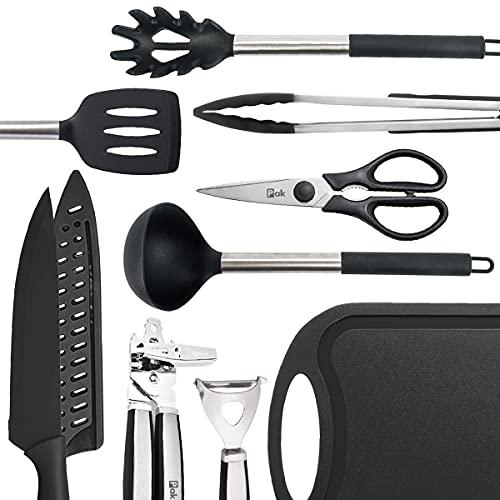 Pak Kitchen Utensils Set, Kitchen Gadgets, Silicone Cooking Utensils Set, Silicone Kitchen Utensil Set, Kitchen Tools and Gadgets Set, Kitchen Set, Cooking Set, Kitchen Accessories, Kitchen Essentials