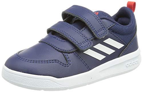 adidas TENSAUR C, Scarpe da Corsa, Dark Blue/Ftwr White/Active Red, 30 EU