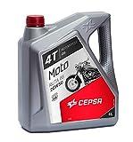 CEPSA 514233601 Moto 4T Ruta 66 20W50 - Aceite Mineral multigrado, 4 l
