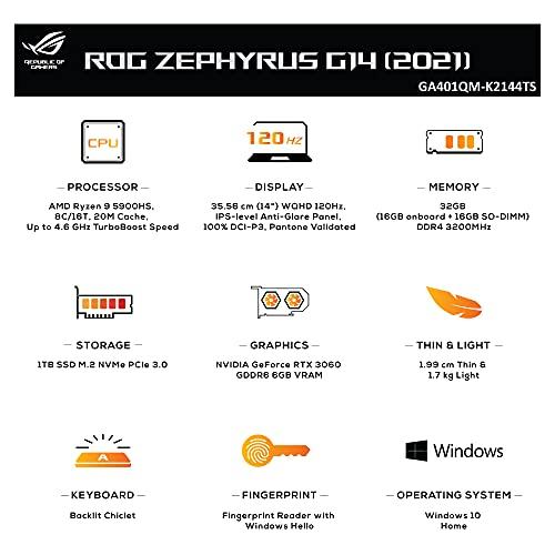 ASUS ROG Zephyrus G14 (2021), 14