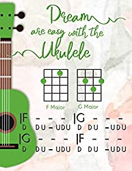 Dreams are easy whiht Ukulele: Gifts for ukulele players.