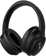 COWIN SE7 - Auriculares inalámbricos Bluetooth con cancelación de ruido, auriculares inalámbricos con micrófono/Aptx, cómodos auriculares de proteínas 30H de tiempo de reproducción, auriculares plegables para viaje/trabajo, color negro