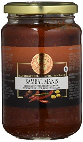 Koningsvogel Sambal Manis, 2er Pack (2 x 375 g)