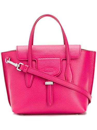 Tod's Luxury Fashion Damen XBWANXA0100FFXM803 Fuchsia Leder Handtaschen | Frühling Sommer 20