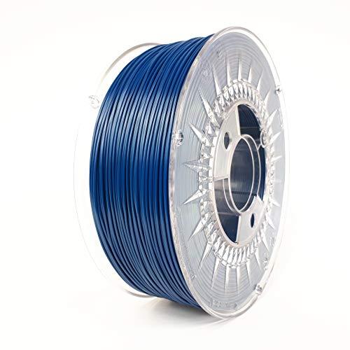 Devil Design | Filamento | ASA NAVY BLUE – blu navy | 1,75 | 1 kg | per principianti ed esperti | ottima aderenza | basso percorso | facile da stampare | basso contenuto di tensione e inodore.