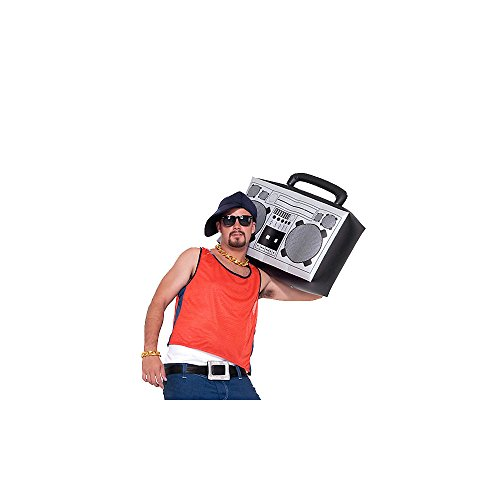 Forum Novelties Hip Hop Inflatable Boom Box
